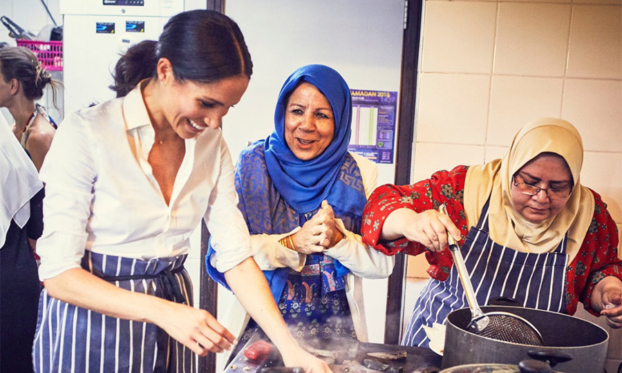 Meghan has been working with the women of Hubb Community Kitchen since January.