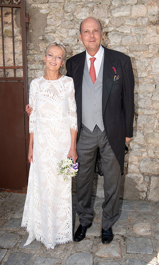 Princess Helene's father Alexander passed away in 2016, but her twin brother Prince Serge took up the mantle of walking her down the aisle. They also have two older siblings, Prince Michael and Prince Dimitri. 