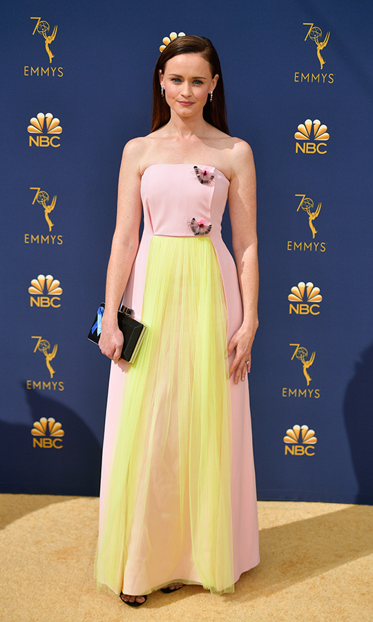 Alexis Bledel in Delpozo