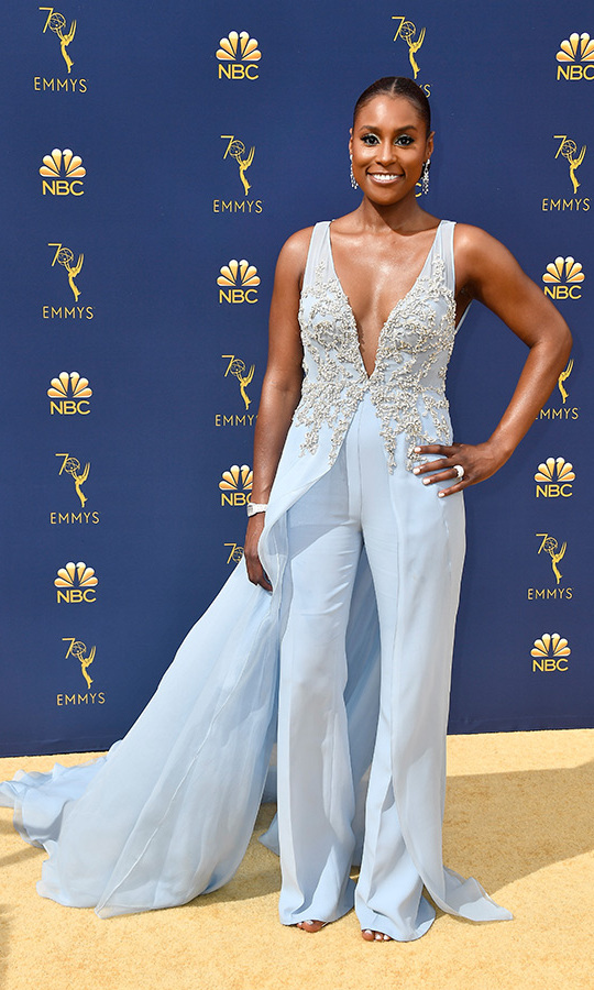 Issa Rae in Vera Wang