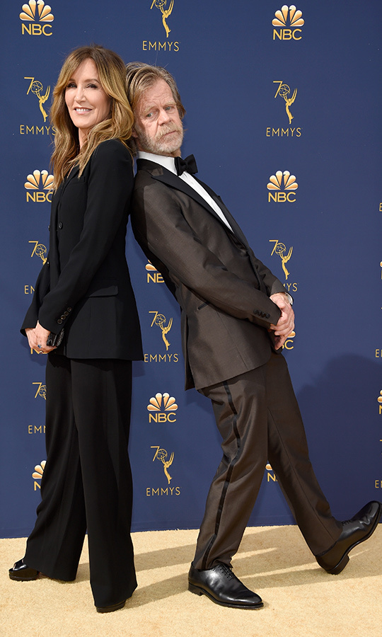<h2>Felicity Huffman and William H. Macy</h2>