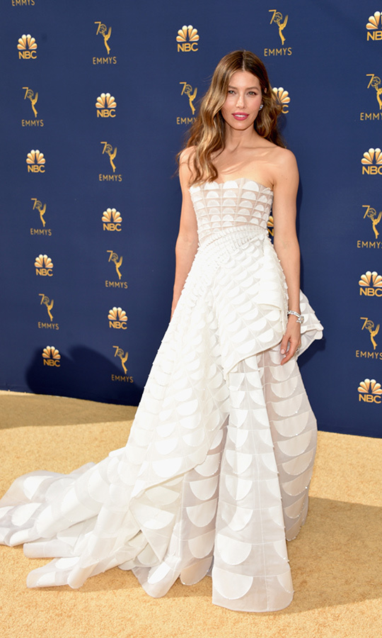 Jessica Biel in Ralph & Russo