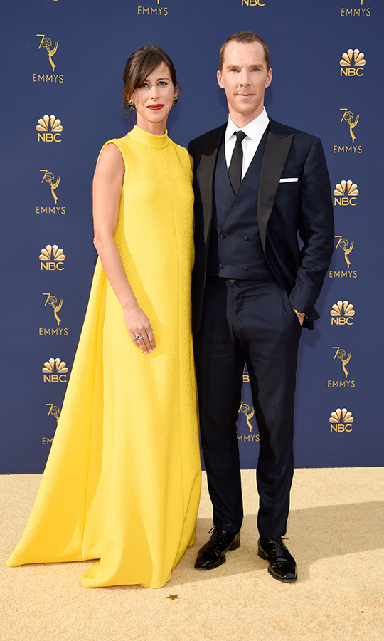<h2>Benedict Cumberbatch and Sophie Hunter</h2>