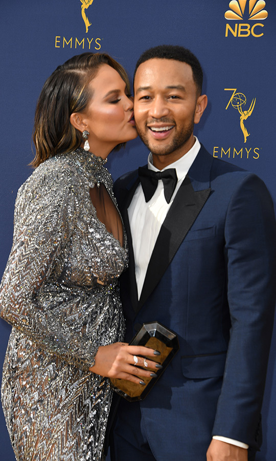 <h2>Chrissy Teigen and John Legend</h2>