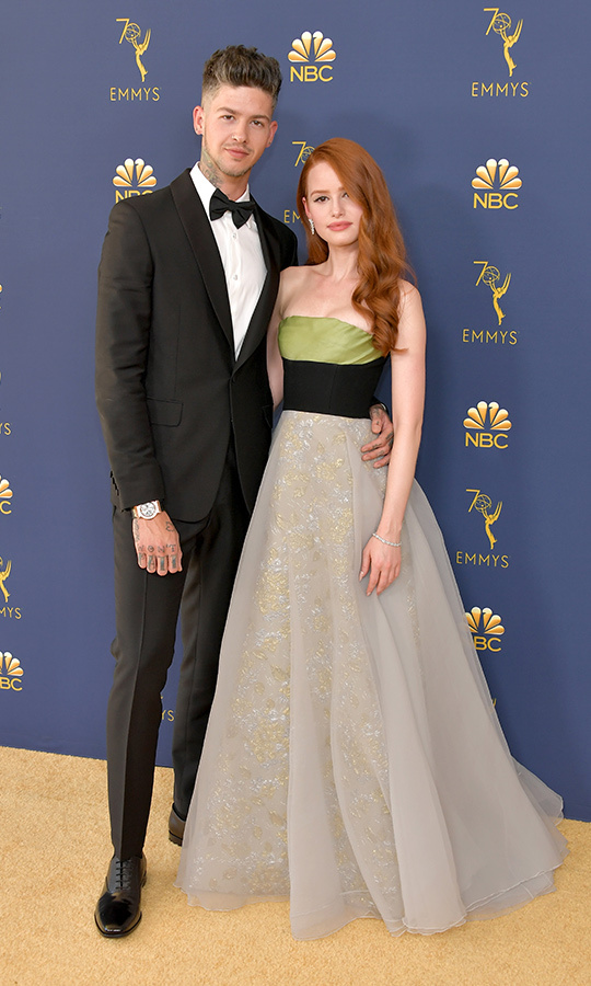 <h2>Travis Mills and Madelaine Petsch</h2>