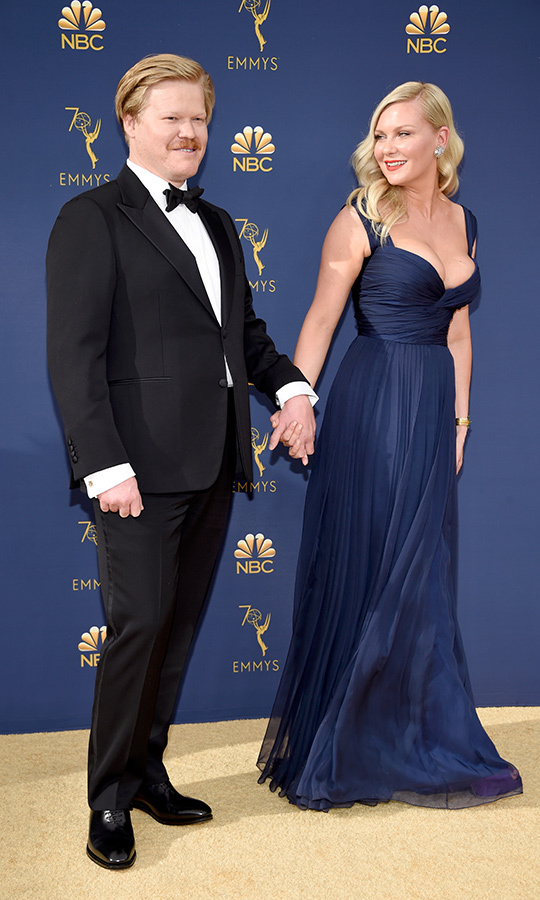 <h2>Jesse Plemons and Kirsten Dunst </h2>