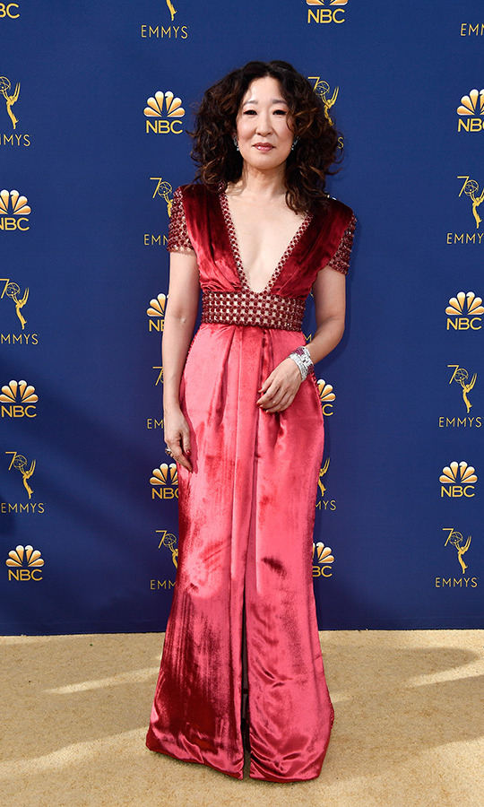 Sandra Oh in Ralph & Russo
