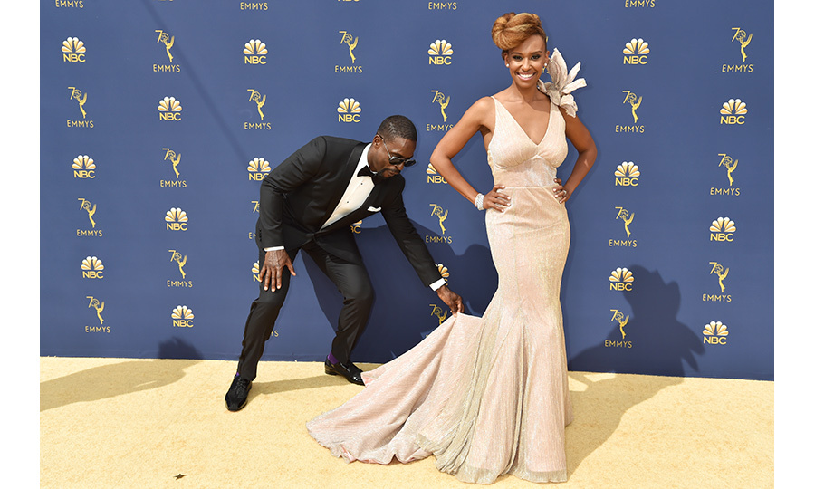 <h2>Sterling K. Brown and Ryan Michelle Bathe</h2>