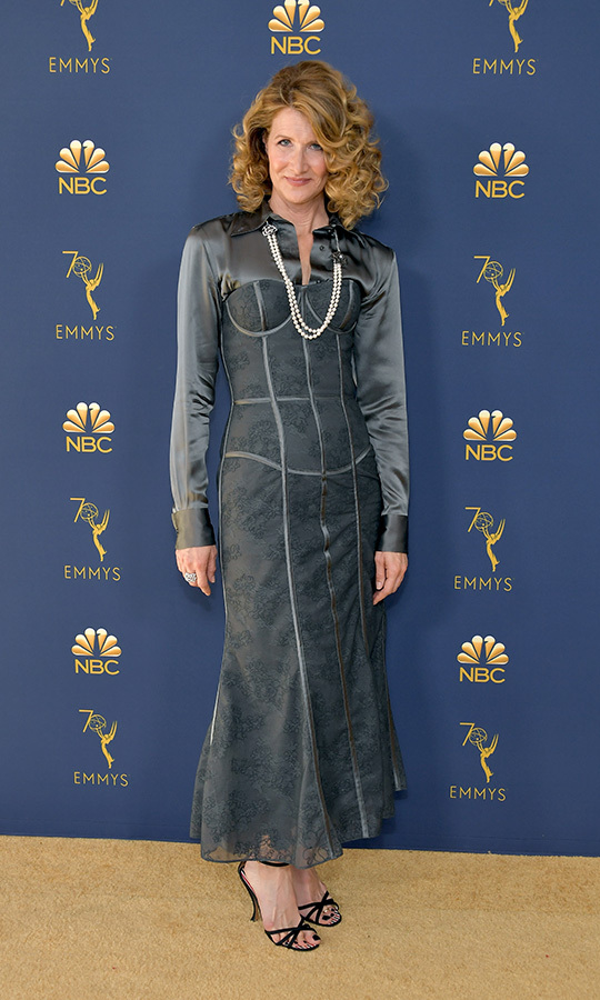 Laura Dern in Thom Browne