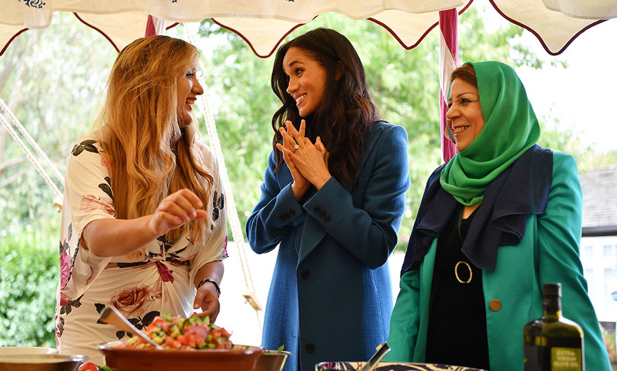 Meghan has clearly developed a beautiful relationship with the women who worked on the cookbook, who used food in such an inspiring way to help heal their community after the tragic Grenfell fire.