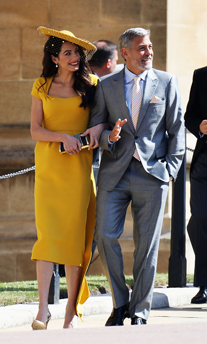 <h2>AMAL AND GEORGE CLOONEY</h2>