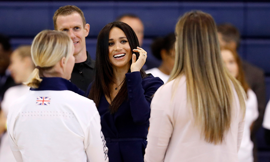 Meghan was all smiles as she chatted with Coach Core apprentices and graduates. 