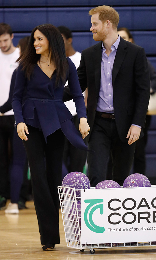 The Duke and Duchess of Sussex showed off their charisma on the court. We can't wait to see more of their charm when they head out on their first overseas tour on Oct. 16!