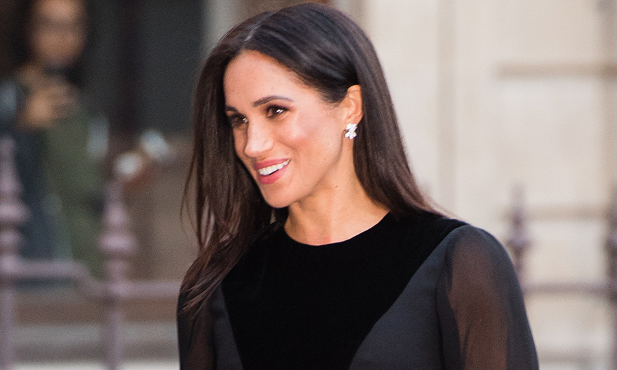 "The <a href=""/tags/0/meghan-markle/"">Duchess of Sussex</a> was cool and collected as she stepped out for her first solo engagement as a royal on Tuesday (Sept. 25), looked chic as ever in another <a href=""https://ca.hellomagazine.com/fashion/02018092547473/meghan-markle-givenchy-oceania-exhibit"">all-black ensemble by her go-to designer house, Givenchy</a>. In anticipation of her first overseas royal tour to the South-Pacific, the royal got a sneak peek of the <em>Oceania</em> exhibit at the Royal Academy of Arts on opening night, taking in more than 500 years worth of art from regions like Micronesia, Polynesia and Melanesia. Some of the pieces on display come from Australia, New Zealand, Fiji and the Kingdom of Tonga, which Prince Harry and Meghan will visit from October 16 to 31 while on tour. Meghan had a wonderful time meeting artists and descendants with ties to works displayed as well as the exhibit's curators, plus she got to see a short performance of Ngāti Rānana, a Māori cultural group - not to mention engaging in her first Hongi, or nose greeting. 