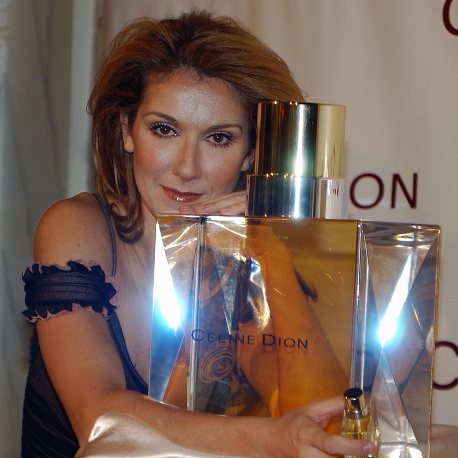 Answering the prayers of her beauty-loving fans, Queen Celine celebrated the launch of her namesake Coty perfume  in her beloved city of Las Vegas, all the way back in 2003.