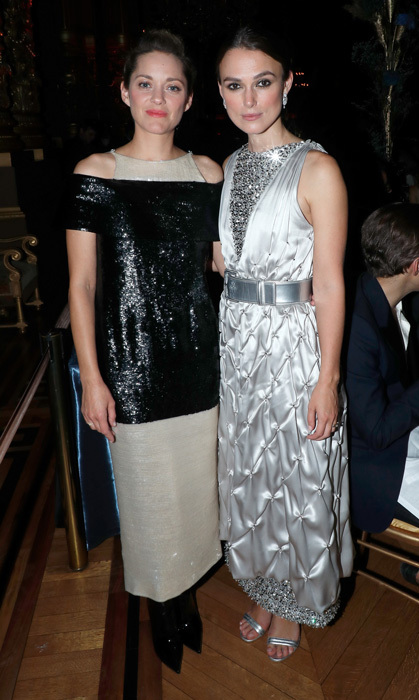 Marion Cotillard and Keira Knightley sparkled at the Opening Season Paris Opera Ballet Gala.