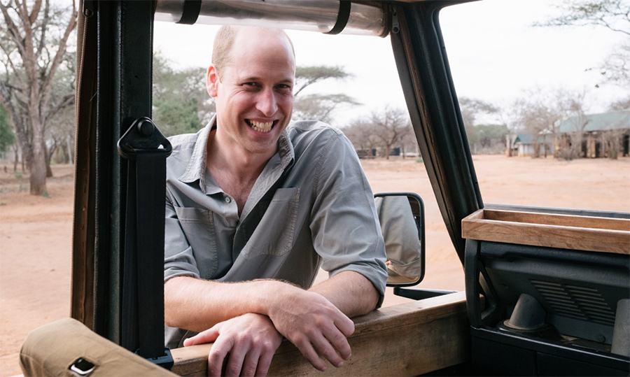 William looked happy as a clam to be at the sanctuary!