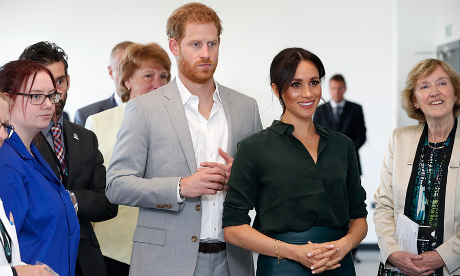 Prince Harry and Meghan opened a tech park at the University of Chichester, where they learned about the exciting things that are happening at the school.