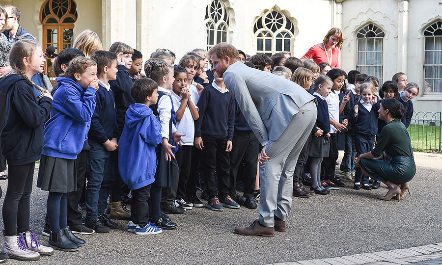Prince Harry told the eight- and nine-year-old Grasshoppers and Spiders from Queen's Park Primary that they're too young to be playing the video game Fortnite!