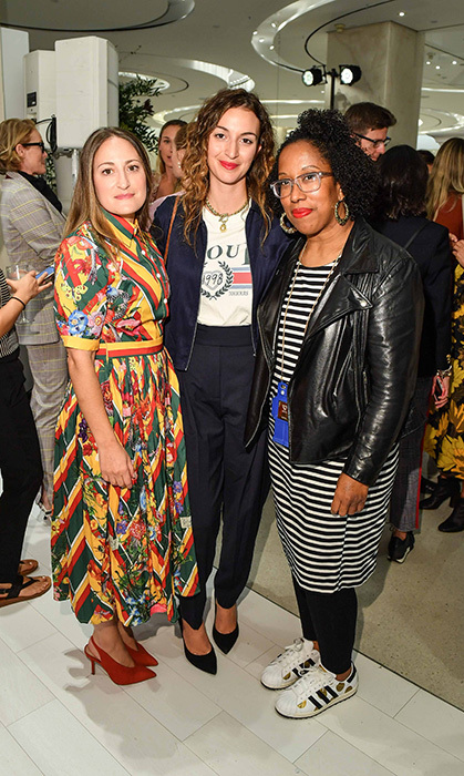Talia Brown, Nadia Pizzimenti and Tricia Hall