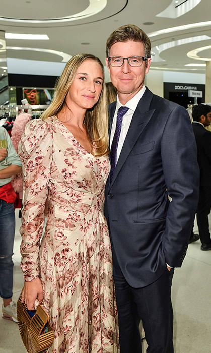 Alexandra Weston and Galen Weston
