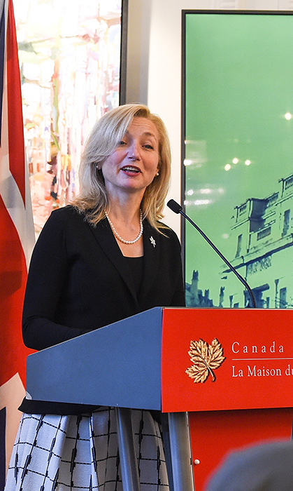 Deputy High Commissioner for Canada, Sarah Fountain Smith