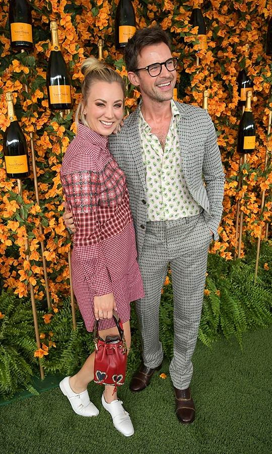 Kaley Cuoco and Brad Goreski