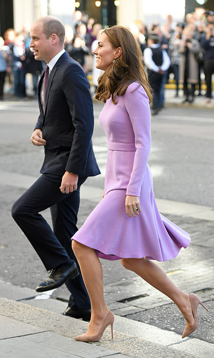 "On Tuesday (Oct. 9), <a href=""/tags/0/prince-william/"">Prince William</a> and <a href=""/tags/0/kate-middleton/"">Kate</a> made their first joint appearance since the duchess went on maternity leave in March - and they were more in sync than ever! Not only did the duo make a fashionable pair, they also showed their passion for a cause close to both of their hearts: mental health awareness. The Cambridges attended the Global Ministerial Mental Health Summit at London County Hall, where they were among political leaders, artists, researchers and policy makers all working to break the stigma associated with mental health issues and work to better the health of people around the world. While there, they also shared a few sweet laughs along the way.