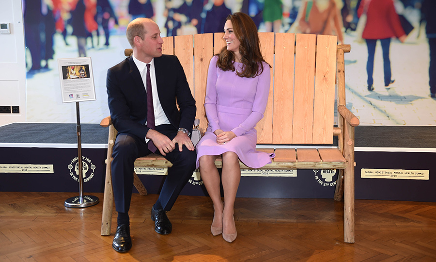The duke and duchess appeared more in love than ever while being asked to pose together.
