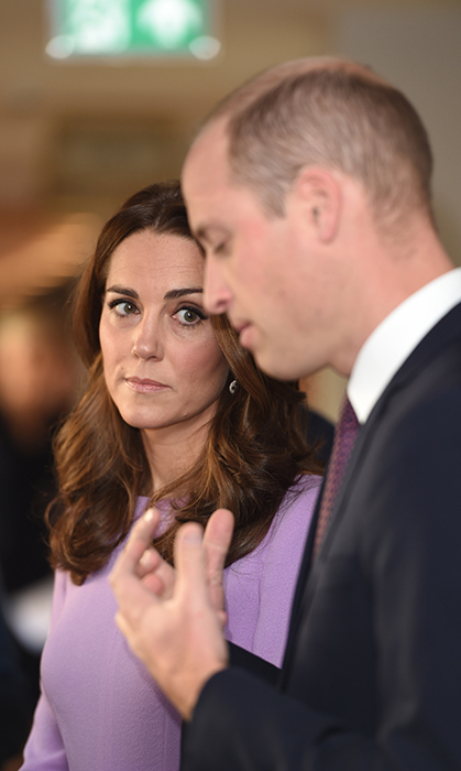 Kate listened intently as her husband spoke to officials at the event. The aim of the initiative is to help improve mental health around the world, a cause that the royal parents work on through their various patronages and their Heads Together initiative, which they launched with Prince Harry in 2016.