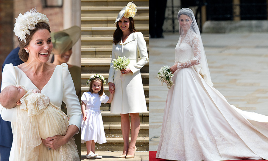 Kate has been an Alexander McQueen girl since she tied the knot in 2011.