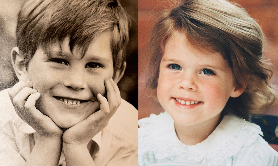 "Three days before saying ""I do,"" Princess Eugenie and Jack Brooksbank treated fans to these sweet glimpses of the bride and groom as children, shared by the Royal Family. ""Today Princess Eugenie, Mr. Jack Brooksbank and their families have shared photographs ahead of their wedding on Friday including these childhood pictures."" 