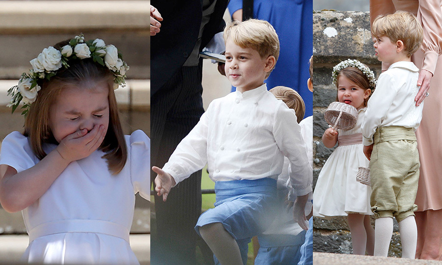"<a href=""/tags/0/prince-george/"">Prince George</a> and <a href=""/tags/0/princess-charlotte/"">Princess Charlotte</a> have had their fair share of practice walking down the aisle at the weddings of family and friends - and it's not hard to see why! The charismatic Cambridge children always steal the show with their hilarious antics, sweet moments with the camera and natural rapport with other kids in the bridal party. 