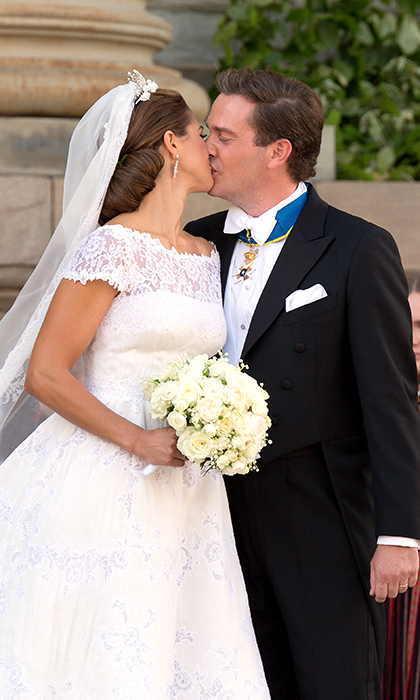<h2>Princess Madeleine and Chris O'Neill of Sweden</h2>