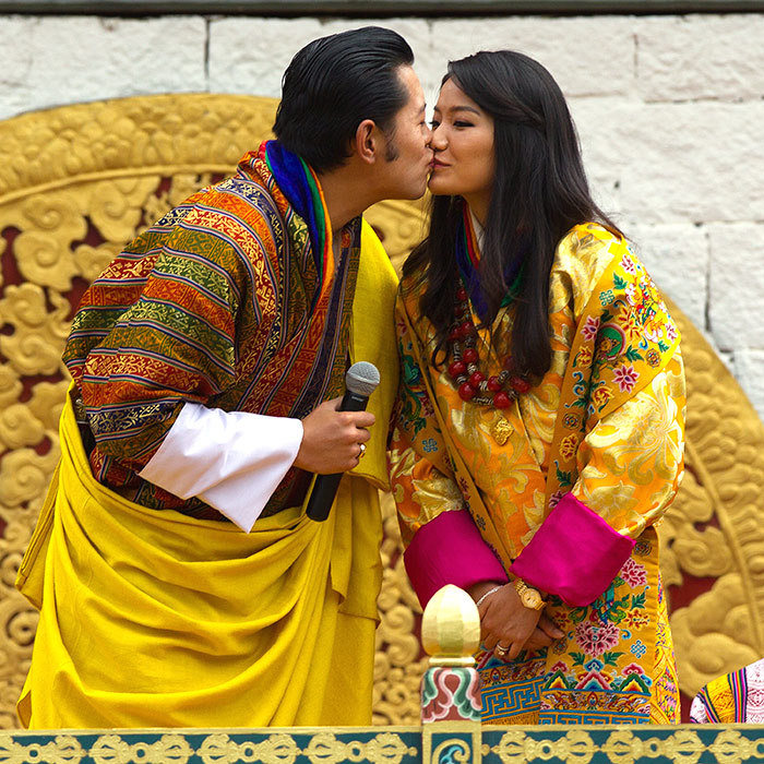 <h2>King Jigme Khesar Namgyel Wangchuck and Queen Jetsun Pema of Bhutan</h2>