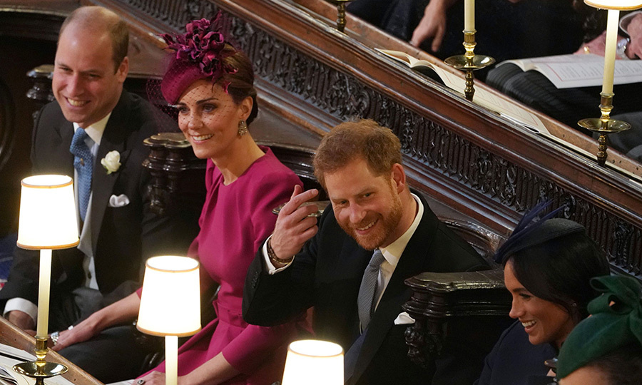 The wedding saw the return of the Fab Four after Kate stepped away from royal life to care for son Prince Louis. The last time the foursome officially stepped out together was back in July when they all attended a celebration for the RAF's 100th anniversary.  