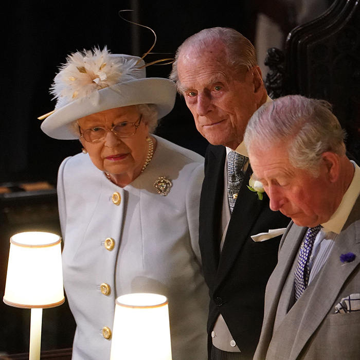 The Queen observed her granddaughter's wedding from the same seat that she occupied on Prince Harry and Meghan's big day. 