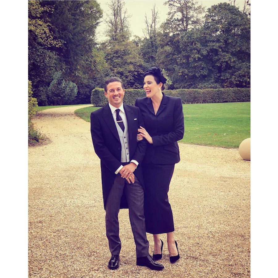 Fans got a glimpse of the beautiful grounds of Windsor Castle in this snap of Liv Tyler and her hubby Dave Gardner.