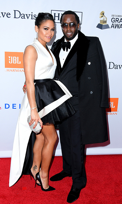 <h2>P. Diddy and Cassie Ventura</h2>