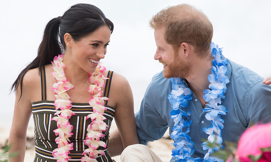 81e03b525 Watch  Highlights from day four of Prince Harry and Meghan s royal tour