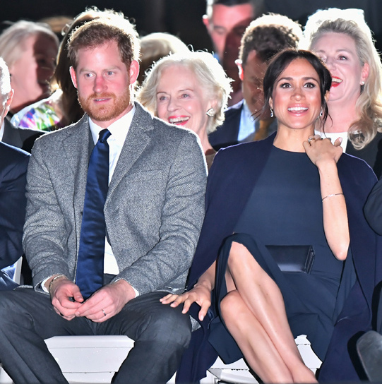 "It's hard to believe that just a year ago, <a href=""https://ca.hellomagazine.com/tags/0/prince-harry-and-meghan""><strong>Prince Harry and Meghan</strong></a> were debuting for the first time as a couple at the Toronto Invictus Games. On the evening of Oct. 20, the now-married (<a href=""https://ca.hellomagazine.com/royalty/02018101547907/prince-harry-meghan-markle-pregnant""><strong>and newly pregnant!</strong></a>) couple attended the opening ceremony of the games in Sydney – and what a fashionable, loved-up statement they made!