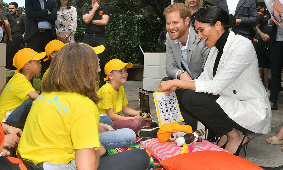 "Prince Harry sweetly told ABC TV that he's feeling ""fantastic"" about becoming a dad, which will bring ""new responsibilities"" along with a ""new third of our lives.""
