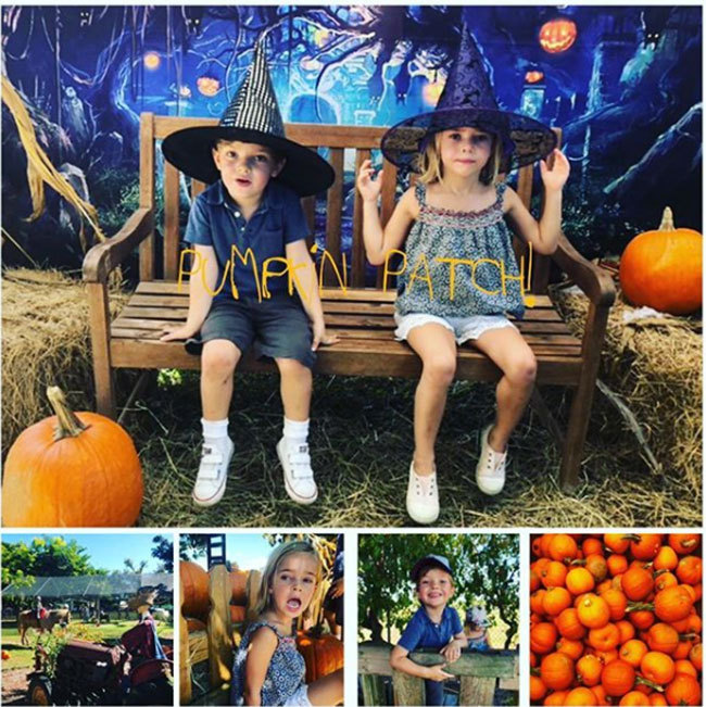 "It's almost Halloween, and the royals are ready! Princess Madeleine of Sweden took to Instagram to share a cute photo of children Princess Leonore, 4, and Prince Nicolas, 3, wearing witch and wizard hats during a trip to a pumpkin patch in Miami, Florida, where the family moved to earlier in the year. ""Sunday Funday,"" she captioned the post.