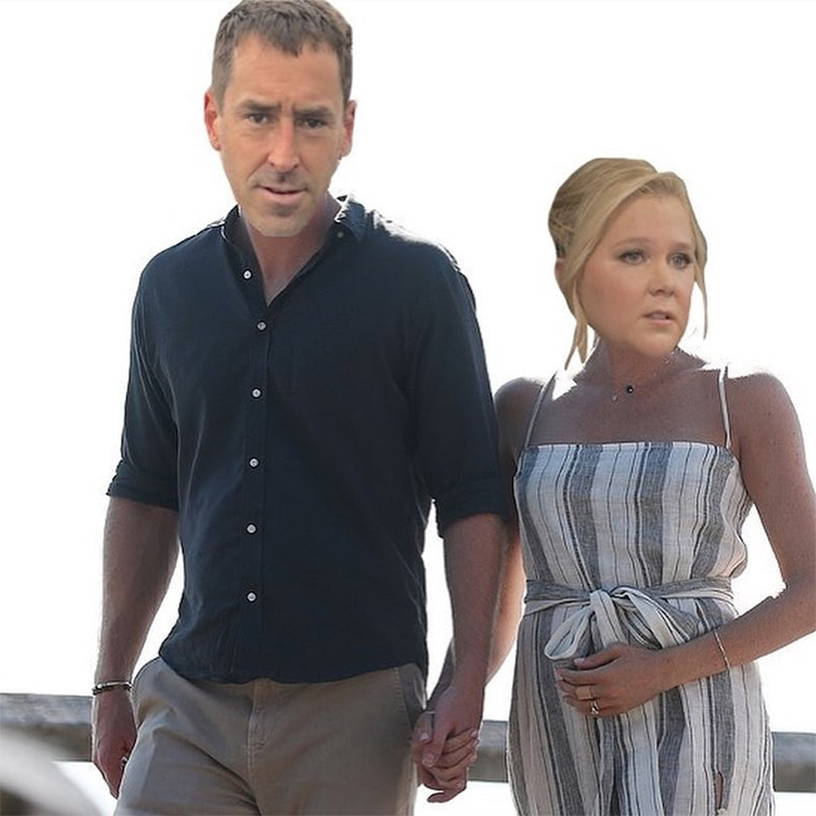 <h2>Amy Schumer and Chris Fischer</h2>