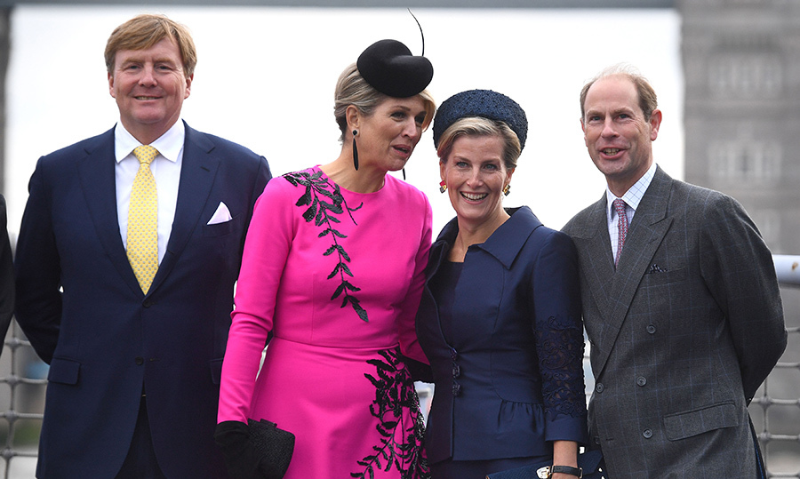 Queen Máxima had a secret for Sophie, Countess of Wessex!