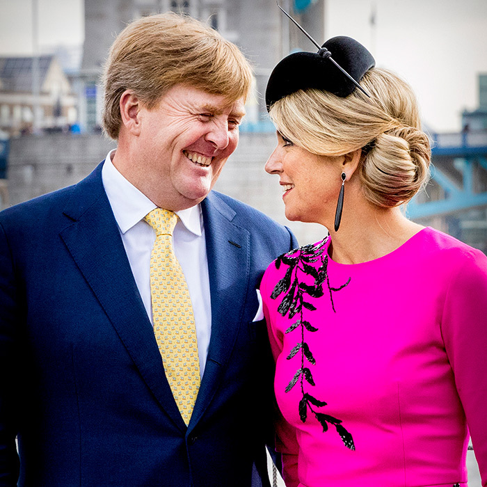 Máxima and Willem-Alexander make a beautiful pair.