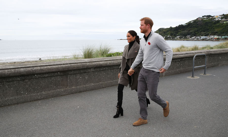 On Oct. 29, the Sussexes stepped out in their perfectly cozy clothes for a meeting at one of New Zealand's most iconic eateries – Maranui Cafe! The two were sipping tea over chats with young people working in the mental health sector, sharing the creating initiatives they're using to help people through helplines, social media, websites and school-based programs.