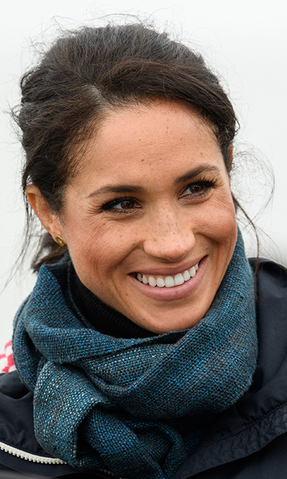 Duchess Meghan showed off her beautiful smile while enjoying all New Zealand has to offer.