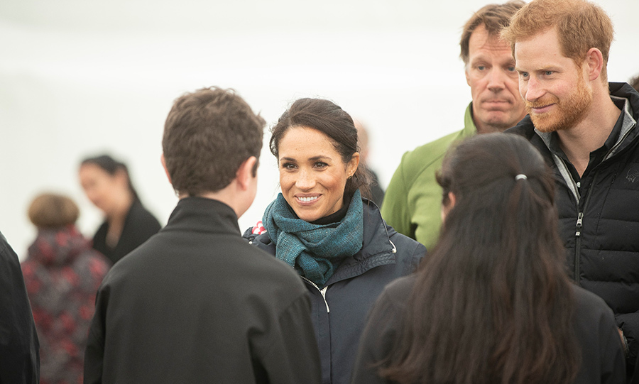 "The Sussexes took time to meet local people during a barbecue lunch, where they impressed chief elder Barney Thomas. He revealed that they could not have been nicer. ""They have had a hectic tour and we really want them to come here and chill out with us with no pressure and no stress. They are such down to earth people, and we want them to be part of the family. I was saying there are two of you and there will be three of you soon.""