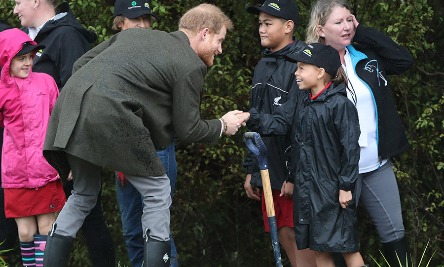 Prince Harry also took a turn!